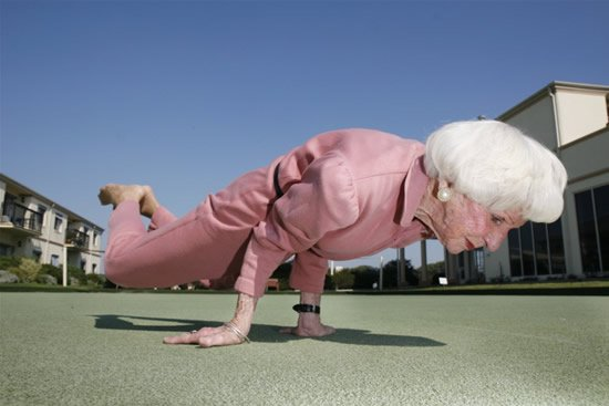 Too Old for Yoga? Nope