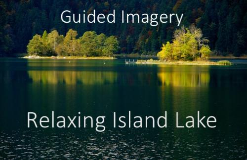 Relaxing Island lake