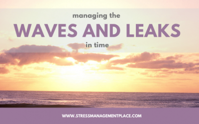 Managing the Waves and Leaks in Time