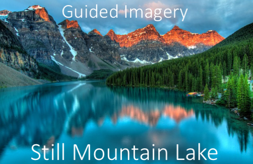 guided imagery-still Mountain Lake thumbnail