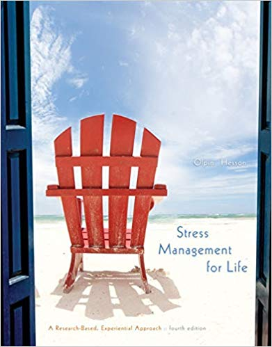 Stress Management for Life - by Dr. Michael Olpin & Dr. Margie Hesson 1