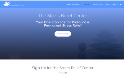 How to Access the Stress Relief Center